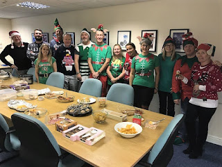 IPS Alzheimers Elf Day - There's some things you don't expect to see at work!
