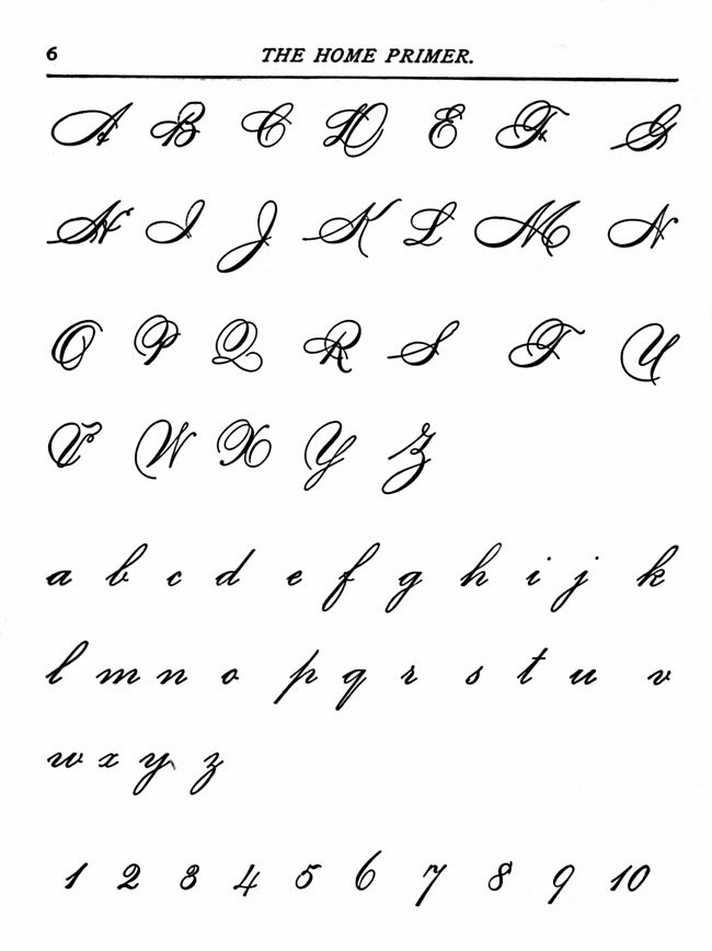 Cursive Handwriting  Hand Writing