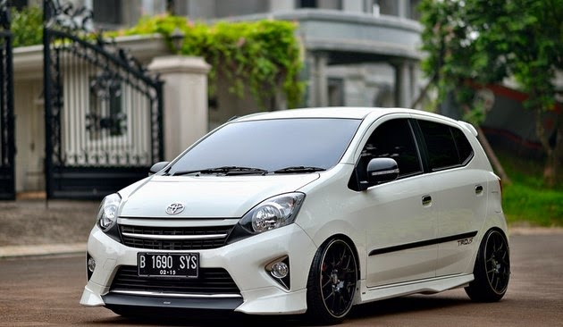 Gambar Mobil Toyota Agya  New Style for 20162017