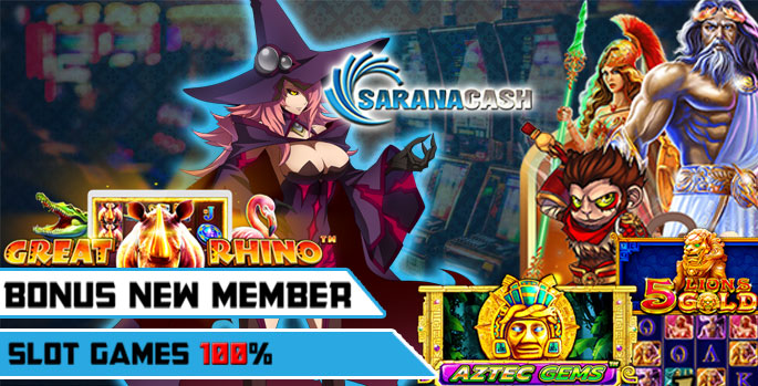 Bonus New Member Slot Games 100%