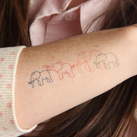 Elefantes Simbolismo Y Los 70 Mejores Tatuajes Belagoria La Web