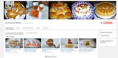 La Cocina de Norma en Youtube