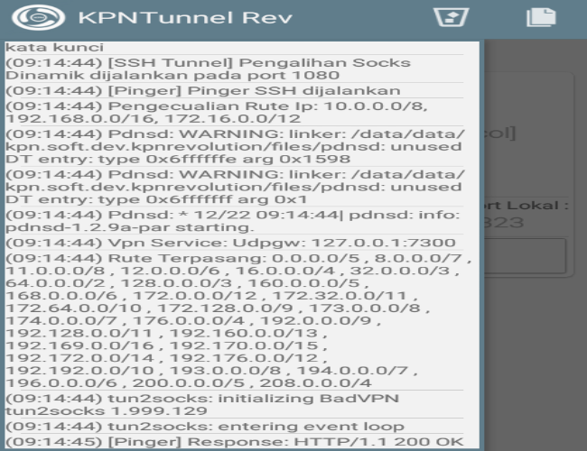 Cara Membuat Payload/Config Three/3 KPN Tunnel Revolution Terbaru