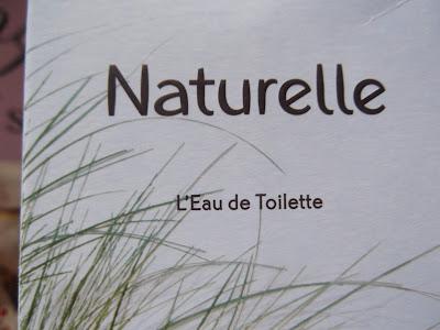 toaletná voda Naturelle od Yves Rocher.