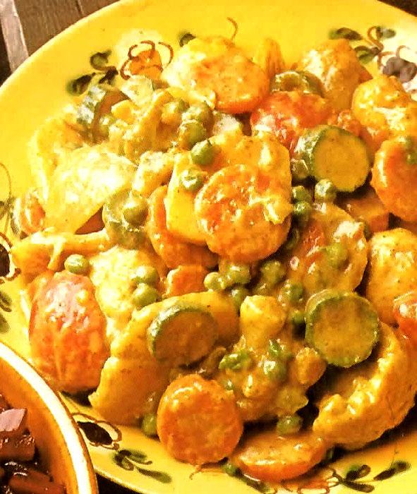 Celtnet Recipes Blog: Pressure Cooker Vegetable Curry Recipe