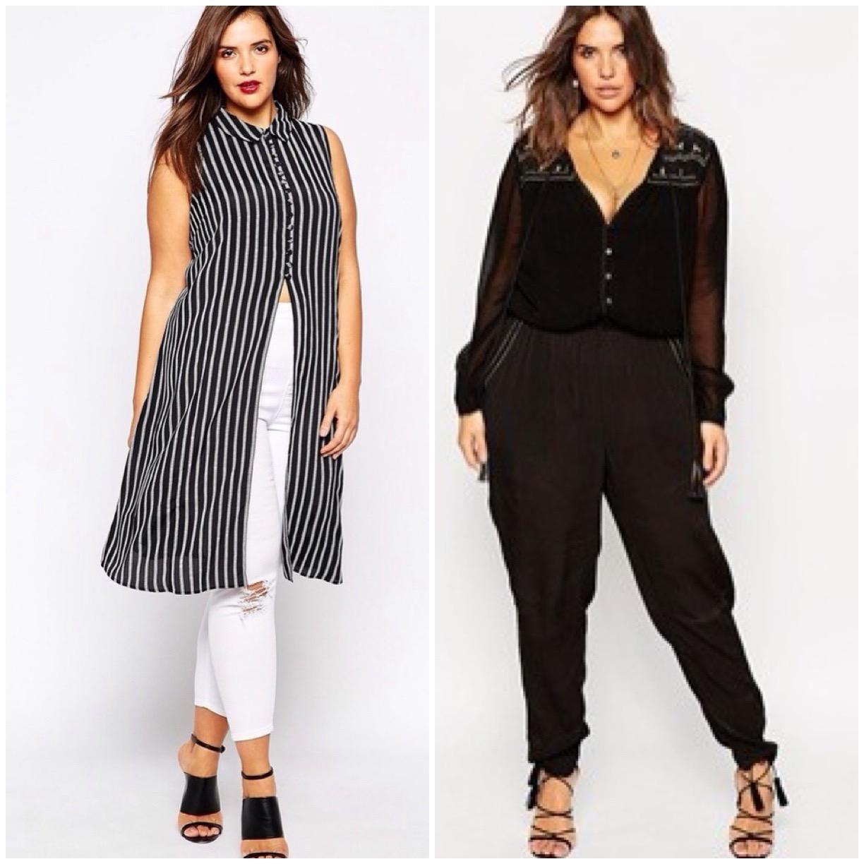 Super Les Femmes Rebelles: Moda curvy: idee e outfit per donne formose NA72