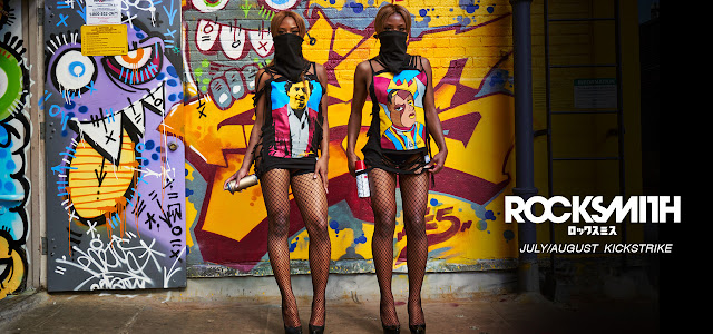 RockSmith Kickstrike Lookbook Juli/August 2015 | Die sexy Clermont Twins in Streetwear aus Brooklyn NY