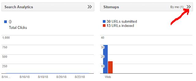 submit sitemap in google