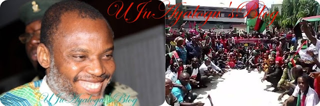 Southeast group calls Nnamdi Kanu a fraud, says he should be held responsible if anything bad happens to Igbos