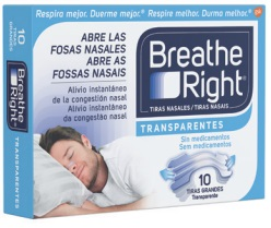 Breathe right Transparente