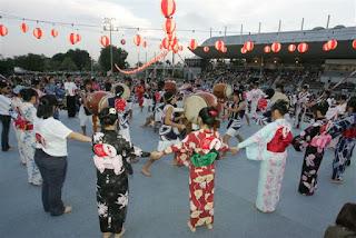 Menghormati Arwah Leluhur Di Obon Matsuri Jepang