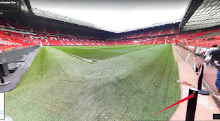 Old Trafford is a football stadium and the home of Manchester United