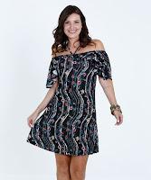 O vestido com comprimento médio é ideal para os mais variados tipos de ocasiões e podem ganhar um toque a mais de feminilidade e estilo com a utilização de cintos