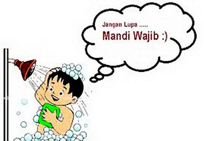 Niat Mandi Wajib