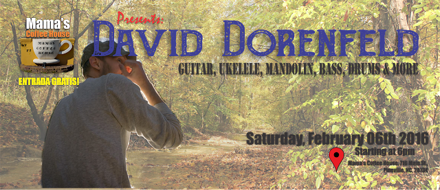David Dorenfeld: Guitar, Ukelele, Mandolin, Bass, Drums & More