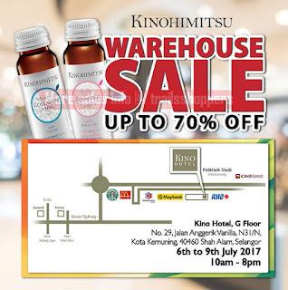 Kinohimitsu Warehouse Sale 2017