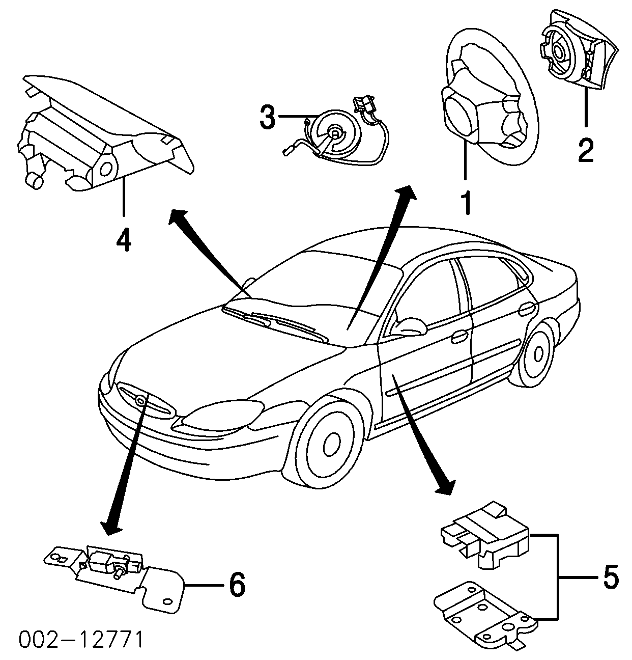 Ford Taurus Air Bag System