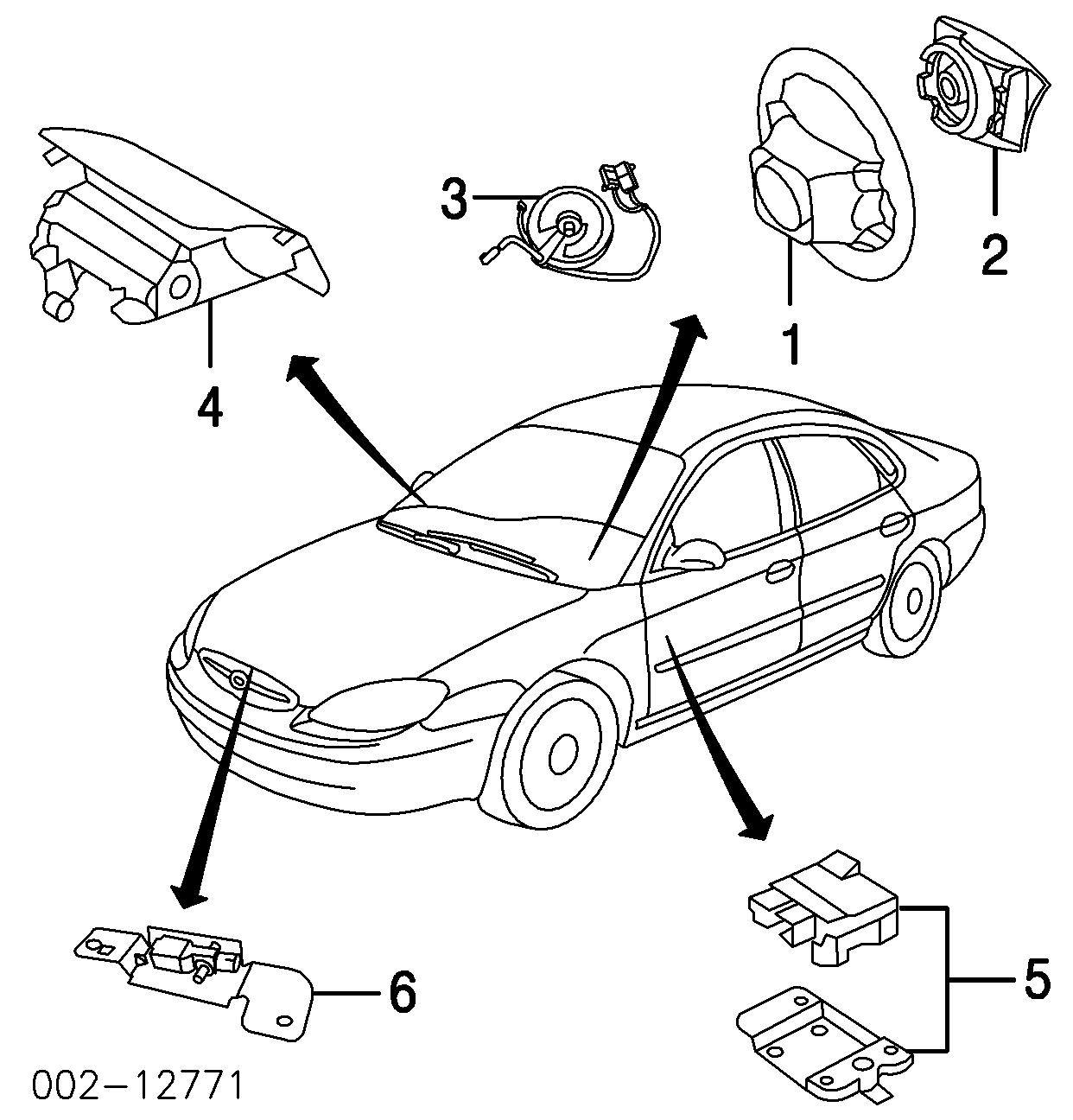 Ford Taurus Air Bag System