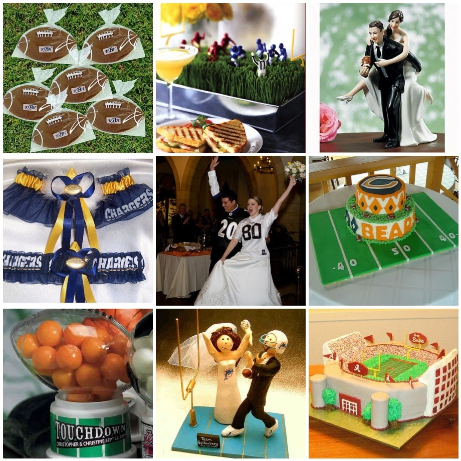 Soccer Themed Wedding Ideas: Wedding Fashion: Football Theme Wedding Plan Tips
