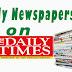 NAIJA NEWSPAPERS: TODAY'S THE DAILY TIMES NEWSPAPER HEADLINES [28 JANUARY, 2017].