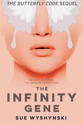 The Infinity Gene by Sue Wyshynski, Girl on Fire, book review, On My Kindle Book Reviews