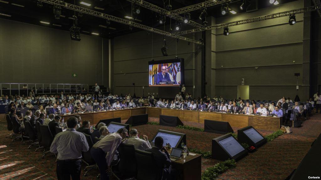 La 47 Asamblea General de la OEA se desarrolló en Cancún, México