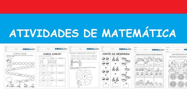 Baixe Atividades de Matemática - Ensino Fundamental 1º ano