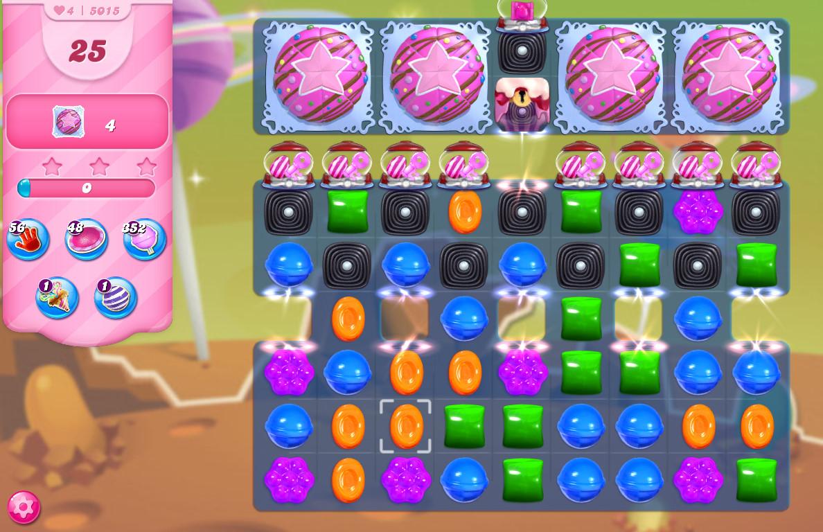 Candy Crush Saga level 5015