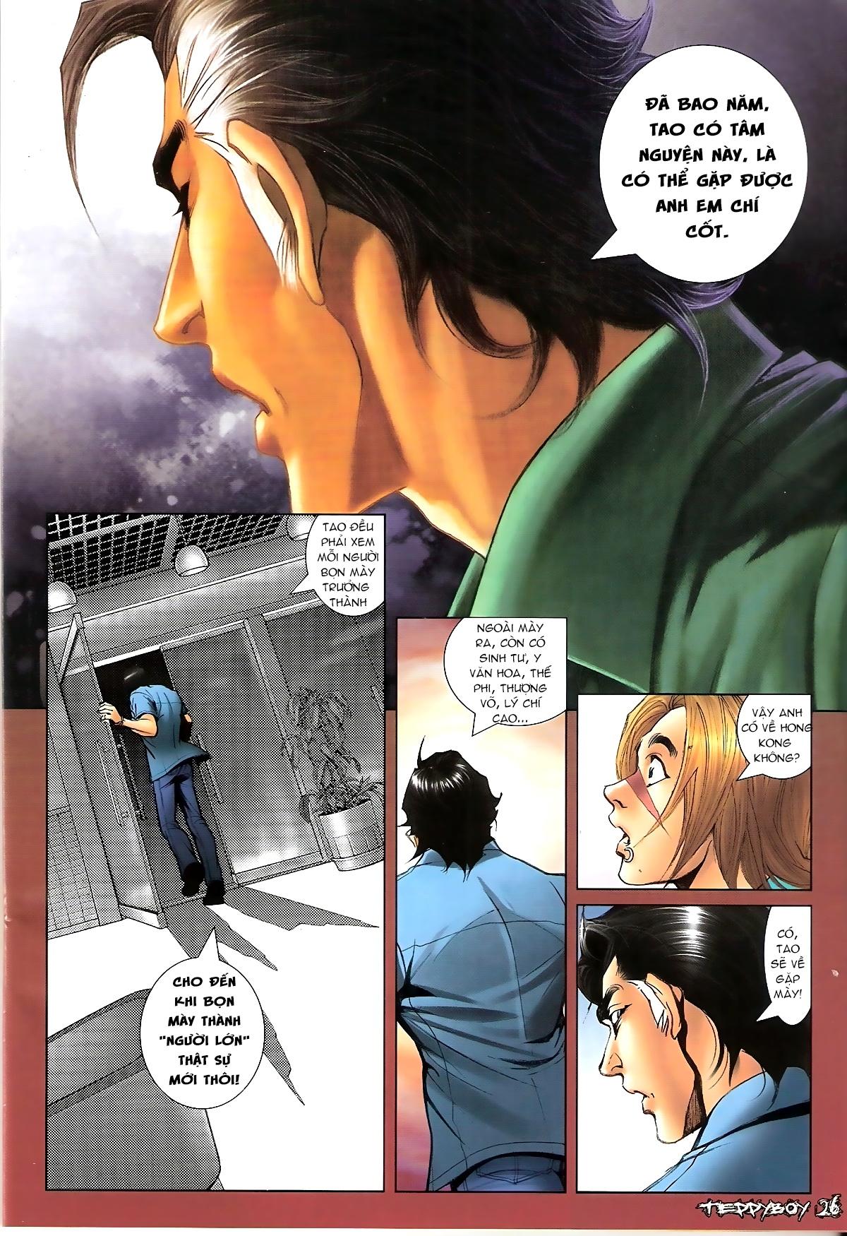 Người Trong Giang Hồ - Chapter 1344: Quá khứ Nam Ca 2 - Pic 23
