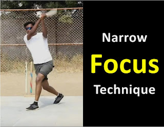 How To Focus On Tennis Ball | Narrow Focus Technique