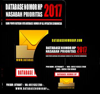 Database Nasabah Pemilik Kartu Kredit