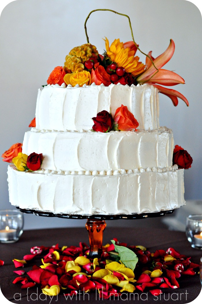 small fall wedding cakes a day with lil stuart fall barn wedding 20210