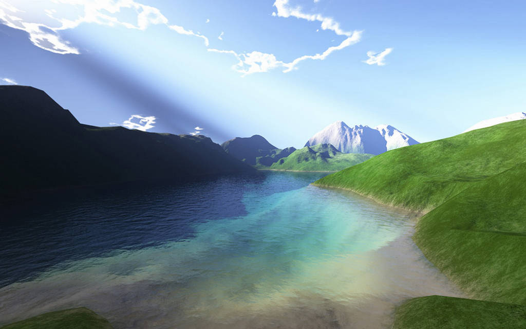 3D Cool Nature Wallpapers For Desktop