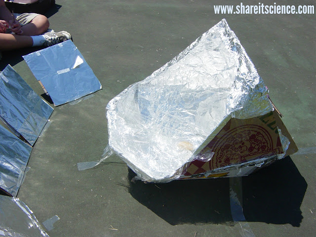 DIY solar oven design engineering challenge