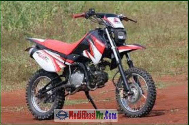 Modipikasi Kaki Kaki Dan Roda - Konsep Gaya Modifikasi Honda Win 100 Klasik Jadi Motor Trail Modern Supermoto