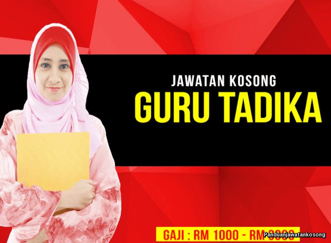 Iklan Jawatan Kosong Tadika Fajar Gemilang (26 Januari 2018)