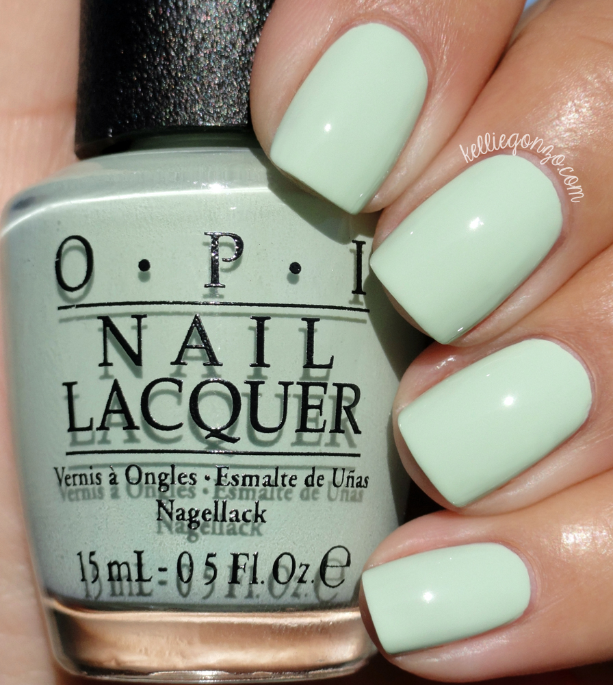 KellieGonzo: OPI SoftShades 2016 Pastel Collection Swatches & Review