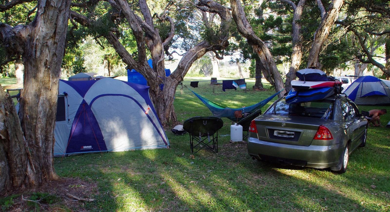 Camping on North Stradbroke Island