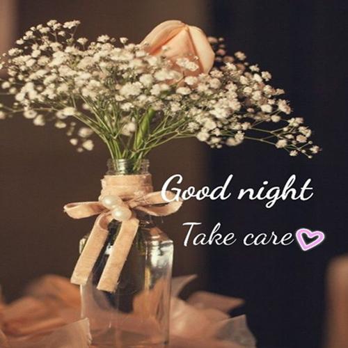 Sweet Good Night Flowers