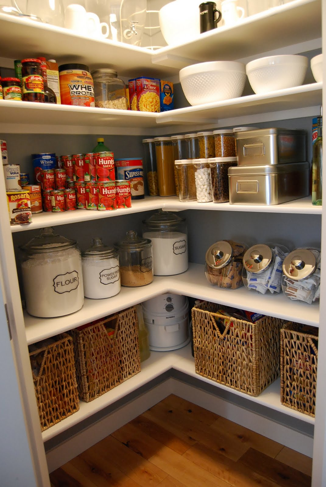 Home By Heidi Pantry Makeover