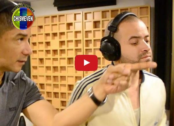 Nacho sacude las redes al grabar su primer Vallenato