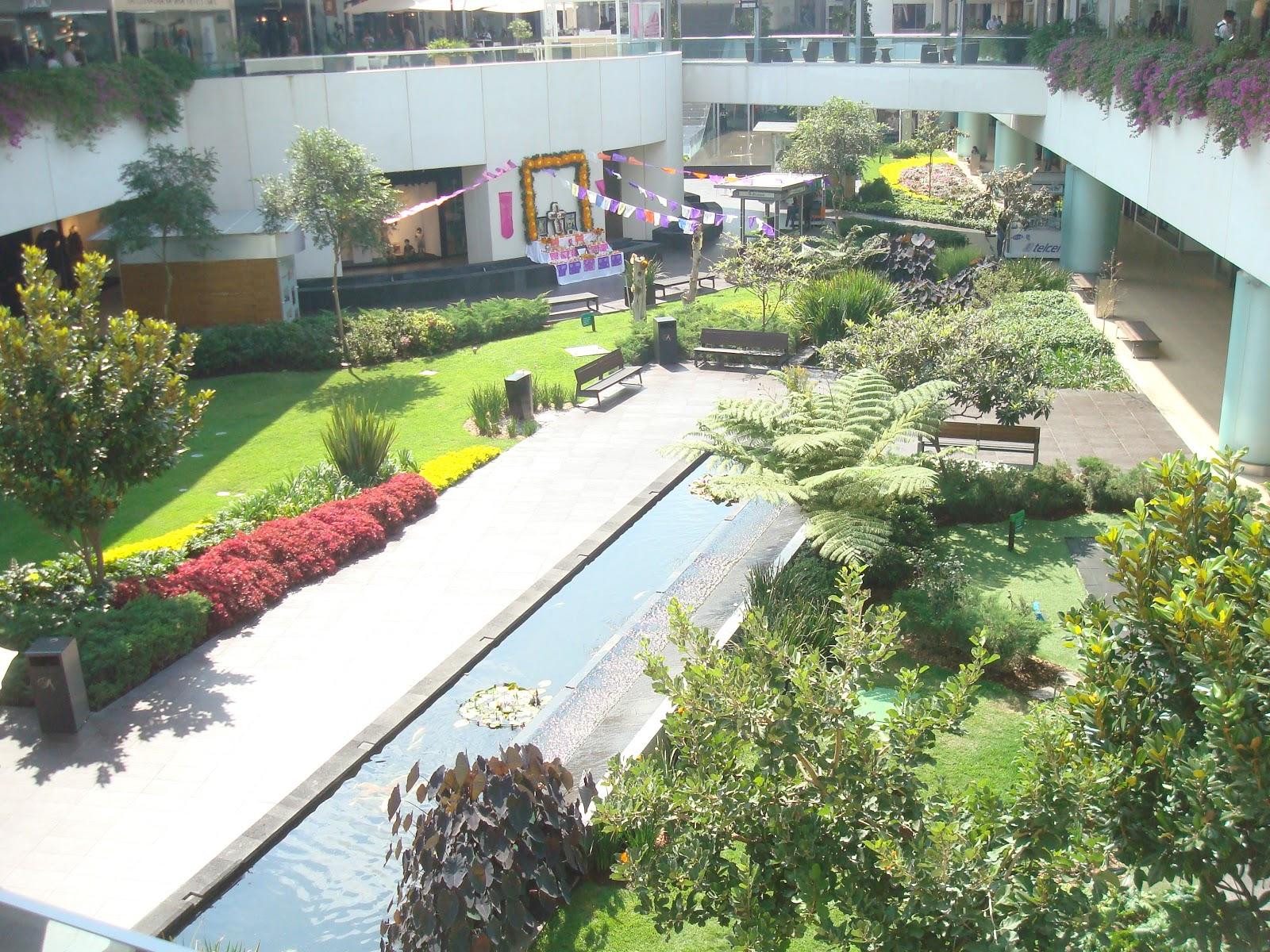 Sancarlosfortin jardines en plaza comercial andares en for Jardines de plaza