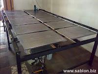 Alat Sablon, Meja Sablon Rel Panjang (Code: SI-R01)