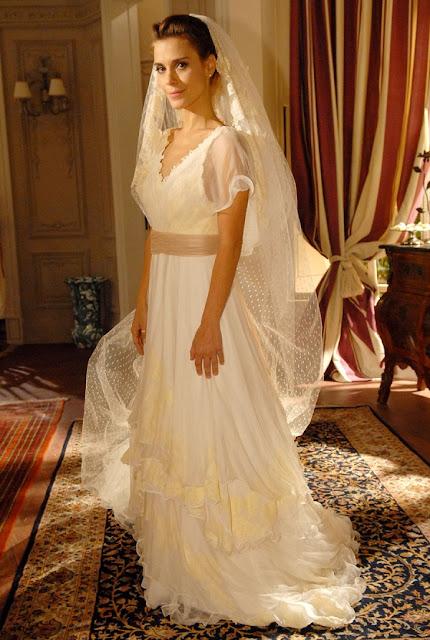 Diana (Carolina Dieckman), Passione, vestido de noiva Lethicia Bronstein