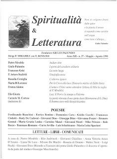 Recuperi/43 - AA.VV., Spiritualità & Letteratura, n. 37