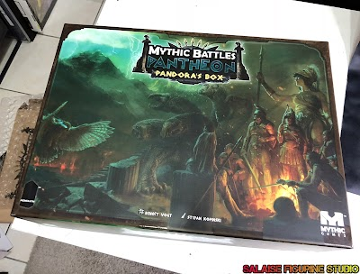 [Openthebox]Mythic battles for pantheon, pandora box (kickstarter)