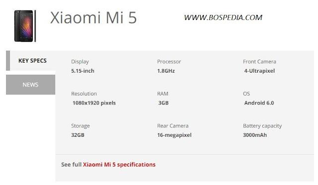Xiaomi Mi 5 Berhasil Terjual 4 Juta Unit