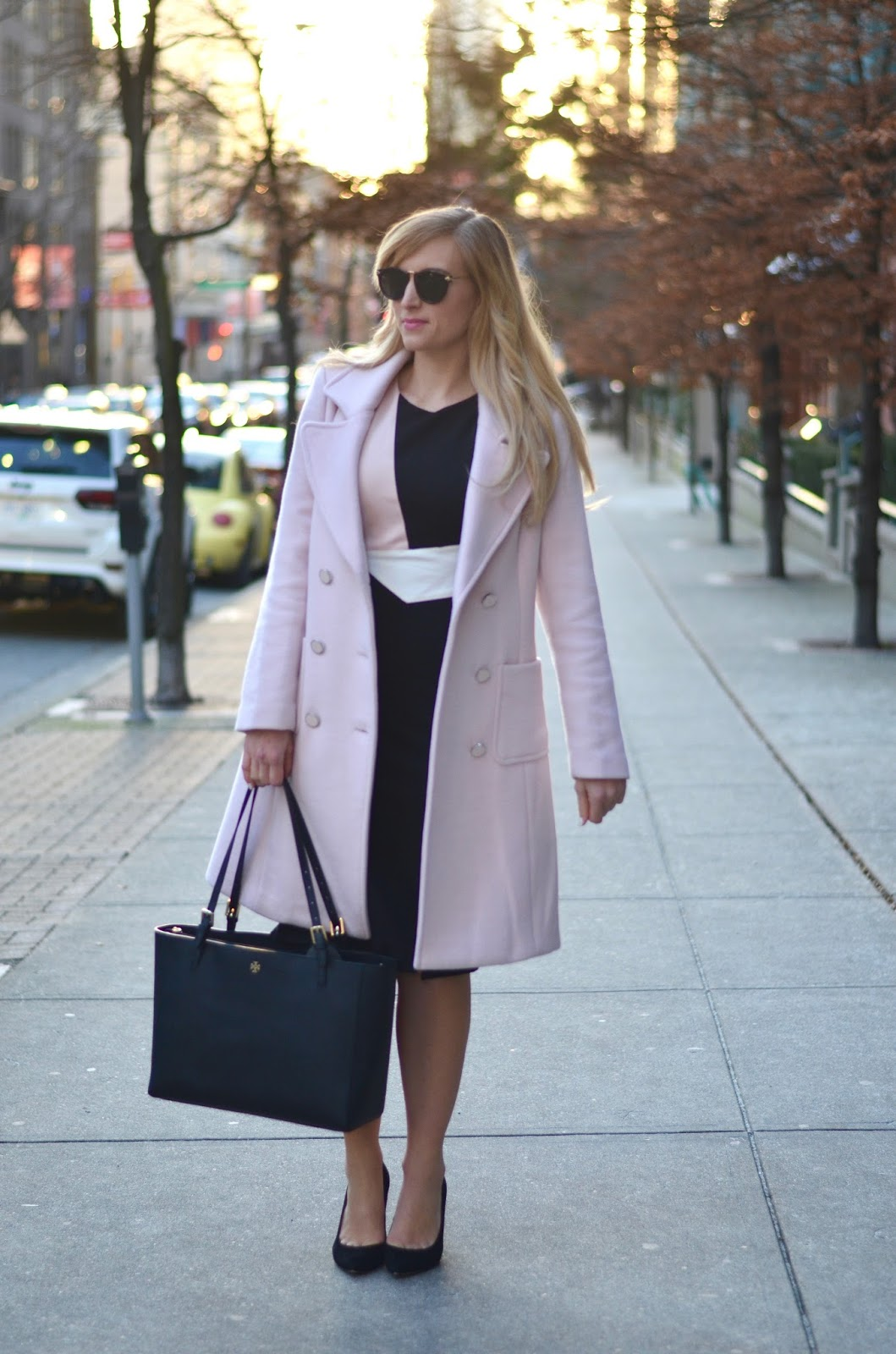 how to dress for work in the winter