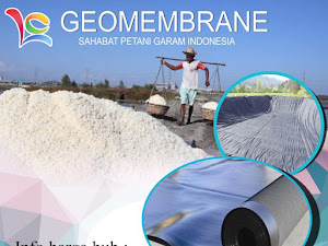 Geomembran Untuk Mengatasi Kelangkaan Garam Di Indonesia