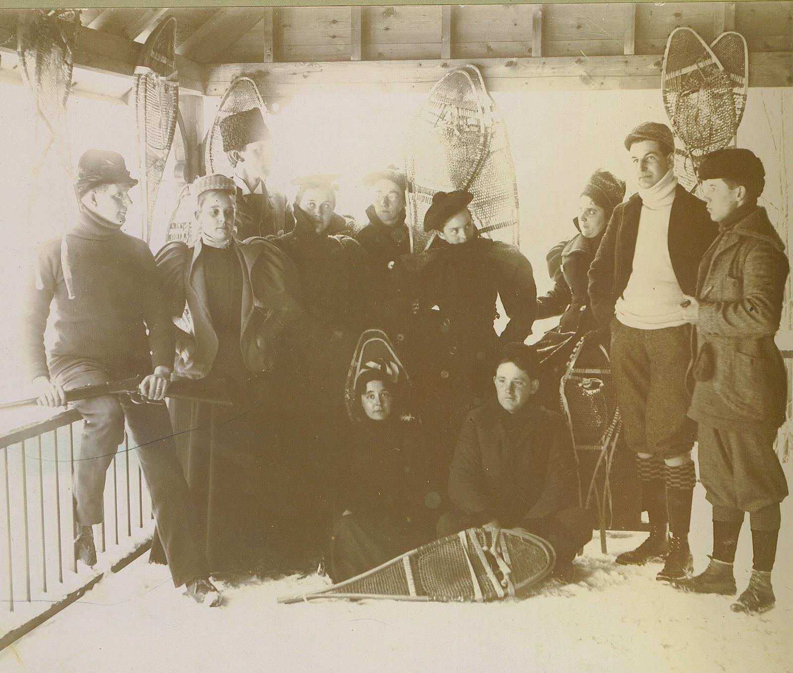 The Franklin County (NY) Historian: Winter Fun